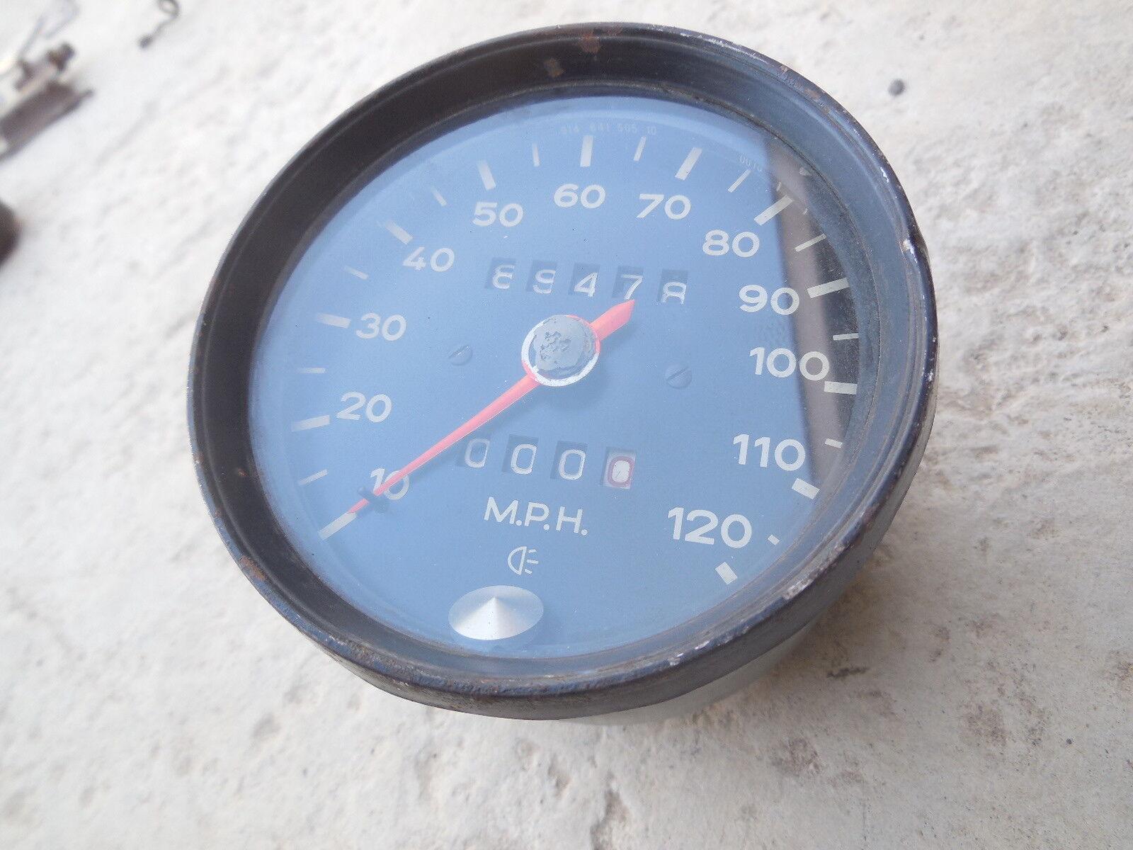 Porsche 914 Speedometer 10/70 914 641 505 10 VDO   C#101