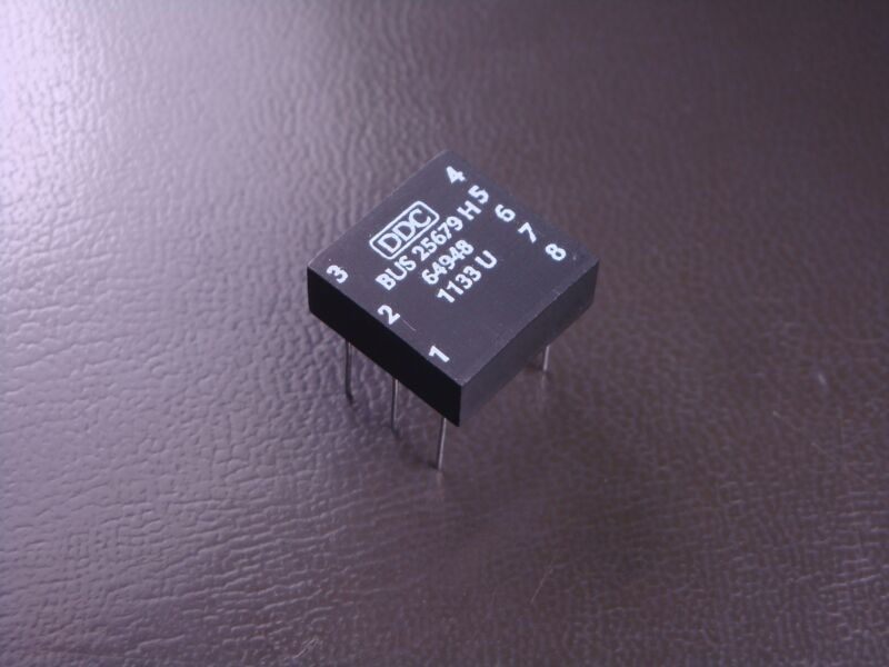 BUS-25679 DDC Pulse Transformer 7.5 mH 12 μH 180mA 75 - 1000 kHz 1.4CT:1CT 8 Pin