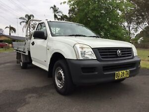 2006 HOLDEN RODEO MY 06 SINGLE CAB MANUAL