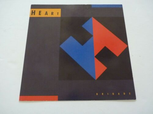 Heart Brigade Promo LP Record Photo Flat 12x12 Poster