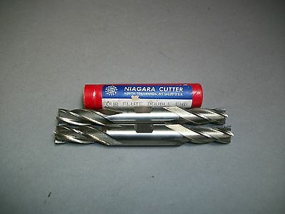 Lot Of 2 Niagara Cutter 1332 End Mill Double-end