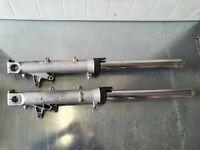Stelo Forcella Honda Cbr 600 RR 04 2004 Sospensioni Cromato Per Moto