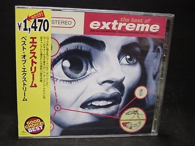 EXTREME The Best Of Extreme: An Accidental Collocation Of Atoms ? JAPAN CD (Extreme The Best Of Extreme An Accidental Collocation Of Atoms)