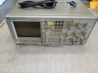 Hewlett Packard Hp Model 3582a Spectrum Analyzer Dynamic Audio Range