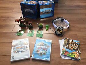 Skylanders Games Lot for the Nintendo Wii