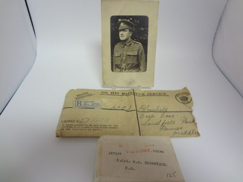 2 WWI medals