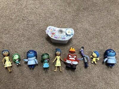 Disney Pixar Inside Out Movie Toys Figures Characters Lot Of 10 Set