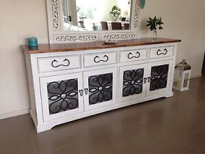 Stunning  Buffet Sideboard French Provincial Shabby Chic Worongary Gold Coast City Preview