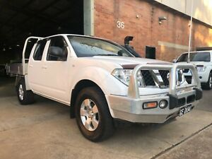 2009 Nissan Navara RX 2.5L Turbo Diesel 4x4 Manual Dual Cab Ute Mayfield West Newcastle Area Preview