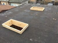 Flat Roof and Skylights