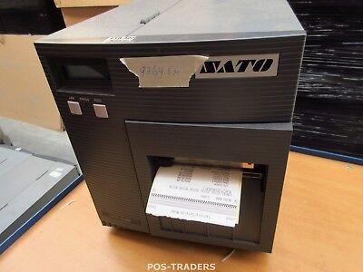 """SATO CL408E Parallel Thermo Label Drucker REWINDER 203dpi 4.1"""" 104mm - 9769.6 M"""