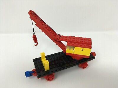 Lego 128 Mobile Crane (Train Base) 4.5v 1970s vintage old railroad 128-2