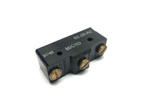 MS BZ-2R-A2 Micro Switch 15A 480VAC 250VDC
