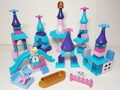Frozen Winter Castle Disney Princess Lego DUPLO Girls Pink Purple Blue Ice Toy