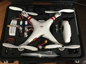 DJI Phantom With Go Pro Custom Case