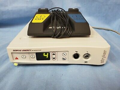 Stryker Serfas Energy Rf Generator 279-000-000 W Foot Pedal Excellent Cond