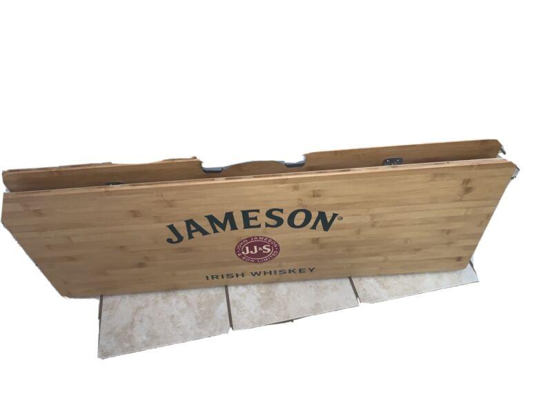 John Jameson Kingcamp Folding Wood Table