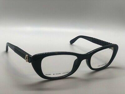 Marc by Marc Jacobs MMJ 569 D28 Black Plastic Cat-Eye Eyeglasses (Marc By Marc Jacob Glasses)