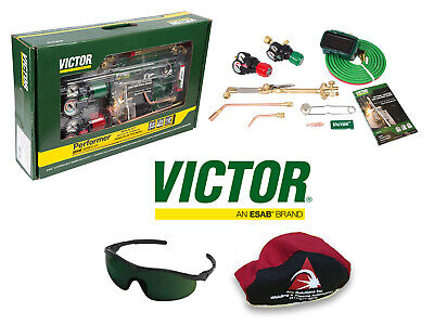 Victor Performer Torch Kit Set W Regulators 0384-2125 - Replaces 0384-2045