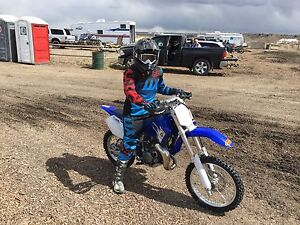 YZ85 dirt bike
