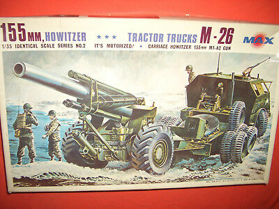 1/35 Max M.02-1500, US Army 155 mm Howitzer M1-A2 & TRACTOR TRUCKS M-26