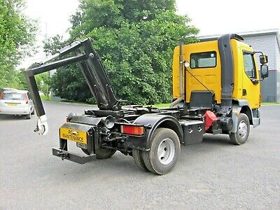 DAF LF 45-160 ROLL ON ROLL OFF HOOK LOADER YEAR 2013 ONLY 56000 MILES GTD