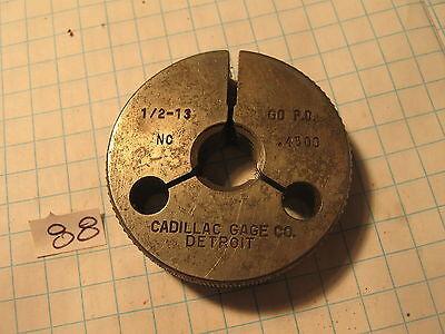 Cadillac 12-13 Nc Thread Gage Go .4500 88 Machinist