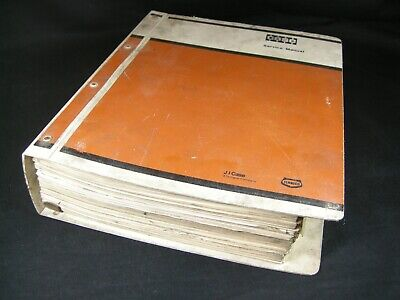 Case W11 Articulated Loader Tractor Service Manual Shop Repair Book Catalog Oem