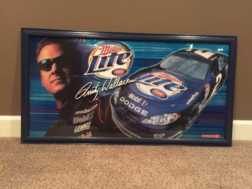 Miller Lite Beer Rusty Wallace 2004 Mirror NASCAR Racing