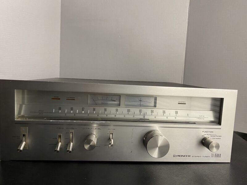 Vintage PIONEER TX-9500II AM/FM TUNER Tested & Working