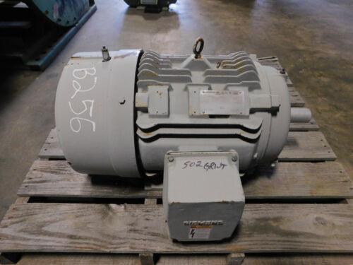 Siemens Electric Motor 25 HP, 284/286 T Frame, 1775 RPM, 460 Volts, 1.15 SF