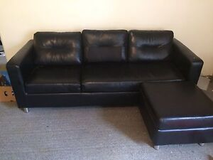 3 seater plus footstool Woolooware Sutherland Area Preview