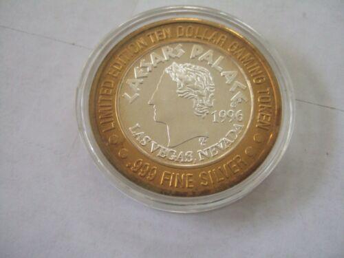 1996 Caesars Palace Las Vegas Chariot $10 Silver Strike