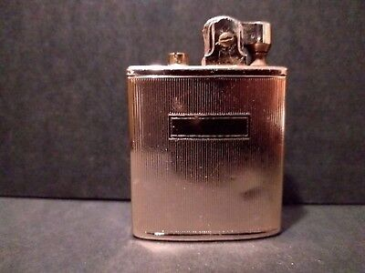 """""""CANARY"""" Vintage Singing Golden Lighter #8 The Lake of the Swan-Original Box"""