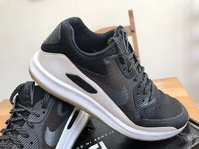 Nike Air Zoom 90 IT Golf Shoes UK Size 9 Black White Air Max