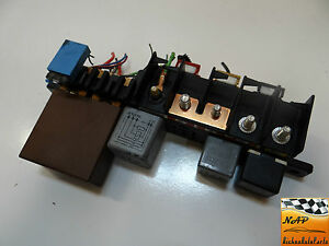 2003 audi a6 2 7 allroad junction box fuse holder relay. Black Bedroom Furniture Sets. Home Design Ideas