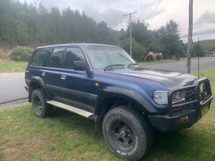 1995 Toyota LandCruiser SUV Captains Flat Queanbeyan Area Preview