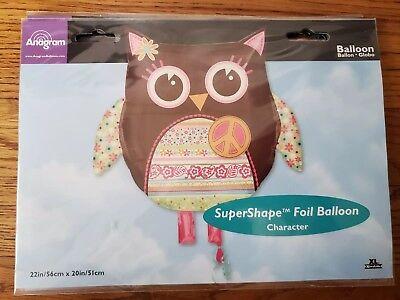 Anagram Balloon Birthday Party Decorations (Hippie Chick Birthday)