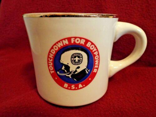 TOUTCHDOWN FOR BOYPOWER  Boy Scouts of America Coffee Mug Cup
