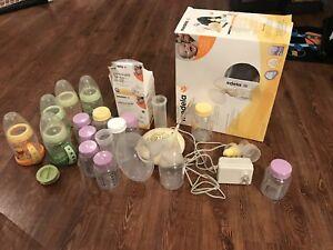 Tire-lait électrique Medela Swing avec sacs de congélation