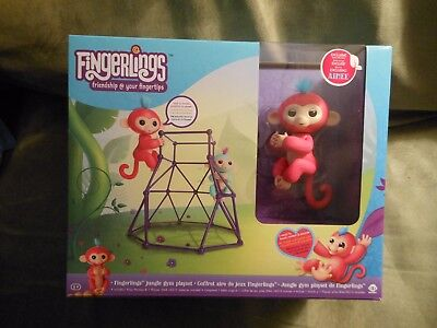 Fingerlings Jungle Gym Playset With Aimee
