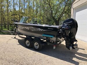 Crestliner Lund Boat Co   Buy or Sell Used and New Power