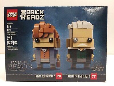 New LEGO Brickheadz 41631 Newt & Gellert
