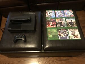 Xbox One with Kinect and 9 games!