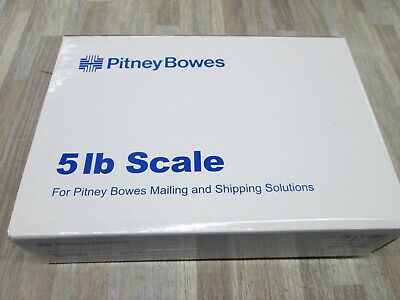 Pitney Bowes 397-a 5lb Usb Shipping Postal Scale New
