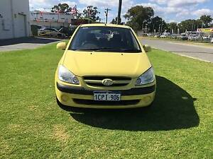 2007 Hyundai Getz Hatchback Automatic Low Kilometers Maddington Gosnells Area Preview