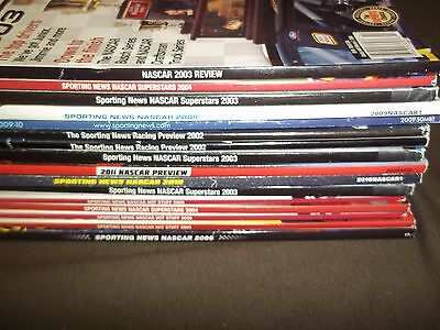 Sporting News Nascar Lot Magazine Lot Of 16 Issues   Includes 1St Issue   O 1070