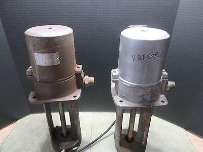 Mori Seiki 3 Phase Electric Coolant Pump Vkp081a 250w Cnc Grey Color Mazak