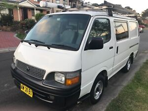 Toyota Hiace 2002 Excellent Condition 2.4 EFi