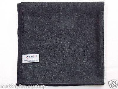 Mega Clean Microfasertuch 40x40 cm in schwarz